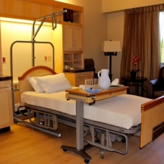 Fresno Surgery Hospital Patient Room